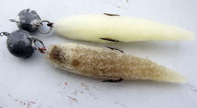 Несмотря на свой невзрачный вид, поролонки отлично ловят толстых щук.