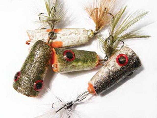 На небольших водоемах вот такие микропопперы для ловли щуки на УЛ спиннинг будут вне конкуренции.