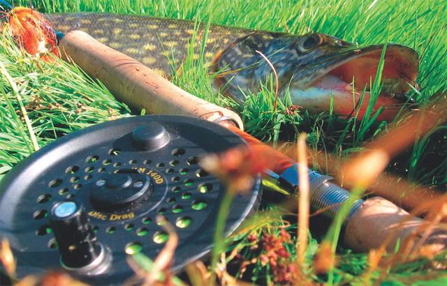 Катушку для ловли щуки нахлыстом стоит подбирать под конкретное удилище и под конкретные условия ловли.