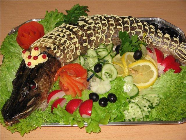 Что сделать из рыбы на новый год
