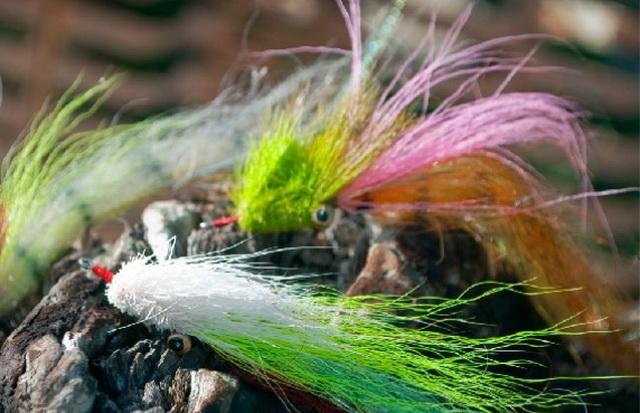 В мутной воде щука ловится на нахлыстовые стримеры самых фантастических расцветок.