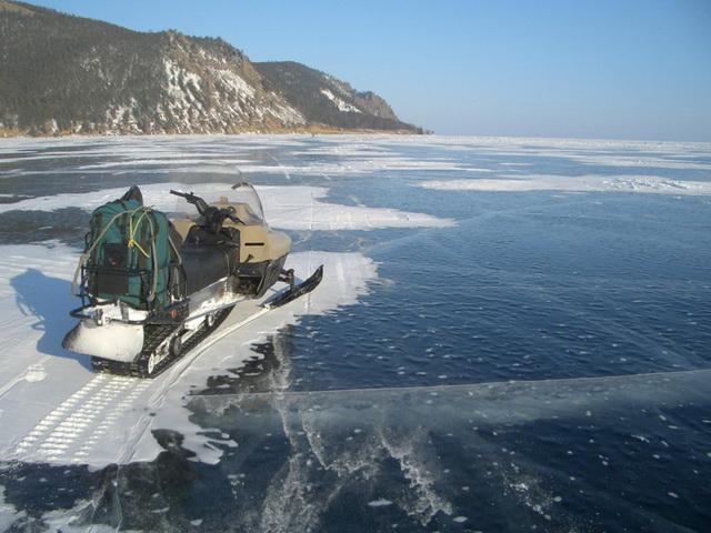 Снегоход для зимней рыбалки на щуку 3