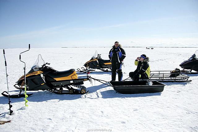 Снегоход для зимней рыбалки на щуку 4