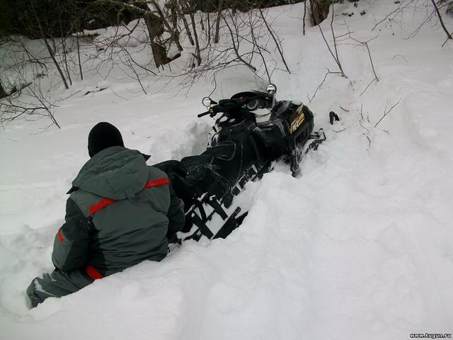 Снегоход для зимней рыбалки на щуку 5